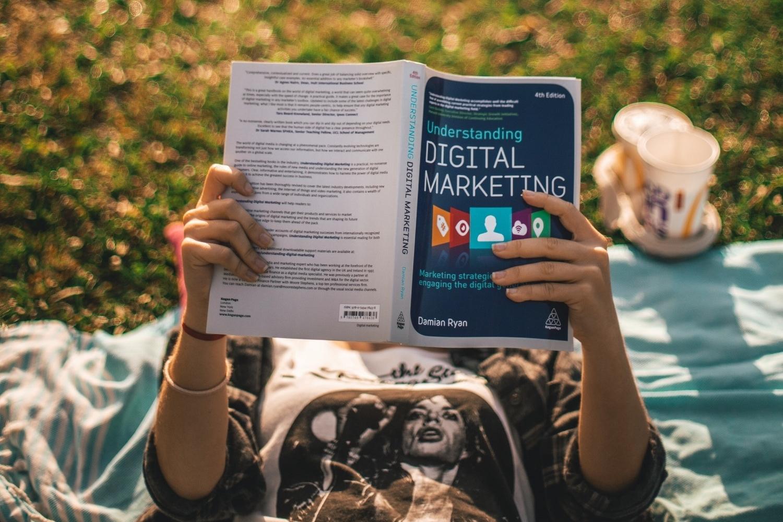 Reading Digital Marketing Book